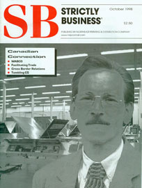 "Strictly Business, Oct 1998 - ""Building Interiors to Build Businesses"""