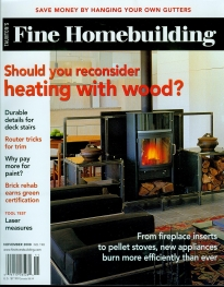 Fine Homebuilding Magazine: November 2008 - Private Residence